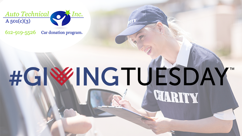 Auto technical participates in givingtuesday for How to buy a car from charity motors